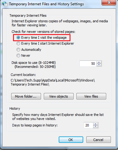 tips mempercepat internet explorer 8